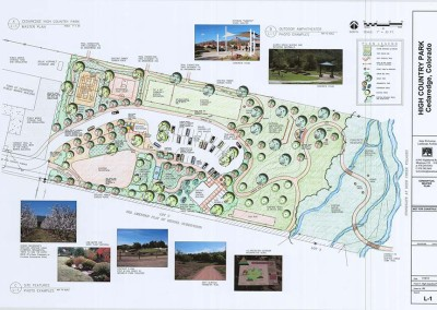 High Country Park  – graphic